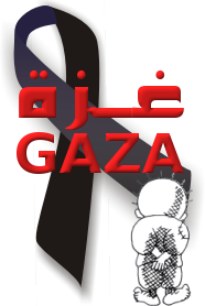 Chroniques de la Palestine occupée dans Barbarie sioniste gaza-black-ribbon